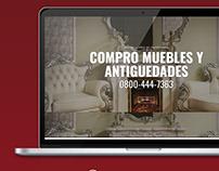 CASA DE ANTIGUEDADES | DISEÑO WEB WORDPRESS