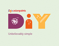 Asian Paints DIY stencils