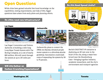 AVs in Cities Infographic