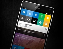 Windows 10 Mobile /// Redstone UI