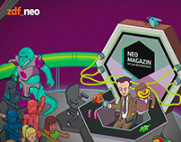 NEO MAGAZIN Intro Illustration