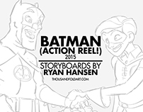 Batman Action Reel 2015