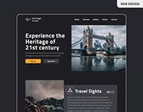 Travel company website