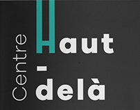 Haut-delà Cultural Center / A5 / 18 pages