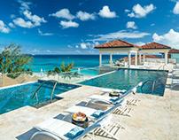 Set Design for Royal Sandals Resort Barbados
