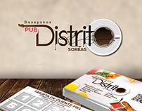 Tarjetas de Fidelidad - Pub Distrito 4