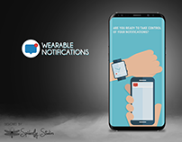 Wearable Notifications - Onboarding Screens
