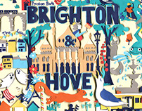 Brighton & Hove Map