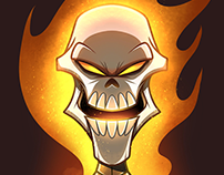 Headshot - Ghost Rider