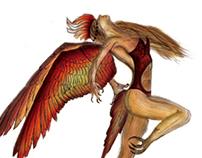 Digitally Painted Illustrations