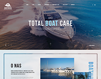 Website Design for Boat Care