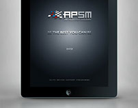 Interactive sales aid for APSM