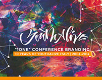 Youthalive 1ONE | Event Branding