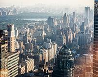 NYC from 601 Lexington Avenue Manhattan