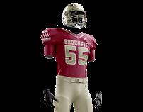 ShockFit Football Uniforms