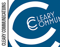 Cleary Communications Logo & Business Card
