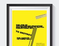 Linguagem e cartazes