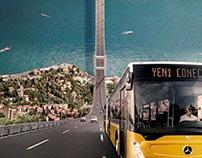 Mercedes-Benz / Conecto Print Ad