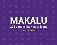 Makalu Icon Set