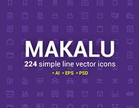 Makalu Icon Set