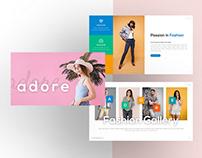 Adore – Fashion Presentation Template