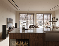 Gogol House Interior by QUADER Architecture