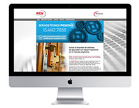 PGV-Fichet | Web redesign