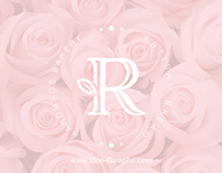 Rosa - logo for sale! www.One-Giraphe.com