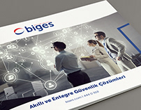 Biges - Corporate Brochure Design