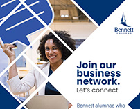 Bennett College - Business Network HTML Email