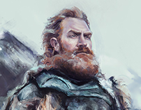 We are kissed by fire.