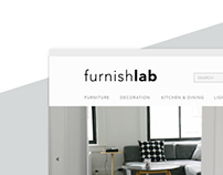 Furnishlab Website Design
