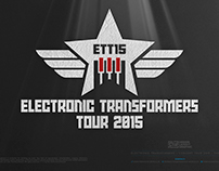 ELECTRONIC TRANSFORMERS TOUR • The Logo