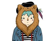 Creación de personaje - Niño oso