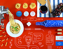 Pasta & Wine Branding