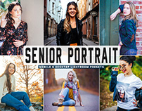 Free Senior Portrait Mobile & Desktop Lightroom Presets