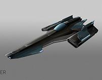 Battlestar Galactica Concept-art