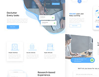 Landing Page for To-Do List App