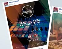 Nazca lounge - Social Media