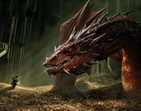 "Smaug ""The Hobbit"""