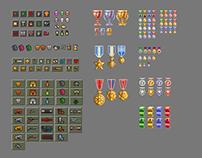 Pixel GAME UX & UI - The Last city