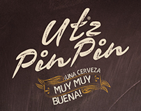 Utz Pin Pin Brand design