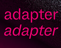 Adapter Typeface