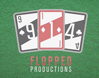 "Title Card Design: ""Flopped Productions"""