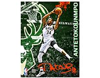 NBA POSTER DESIGNS