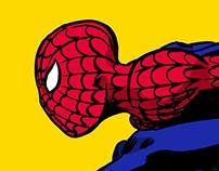Spider-Man color sketch