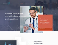 AnalySource - Website and Mobile Design.