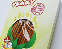 Packaging for bread sticks
