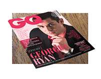 GQ Magazine Cover & Z Card (Model Comp Card)