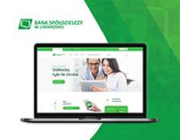 Banking Website - Bank Spółdzielczy w Limanowej